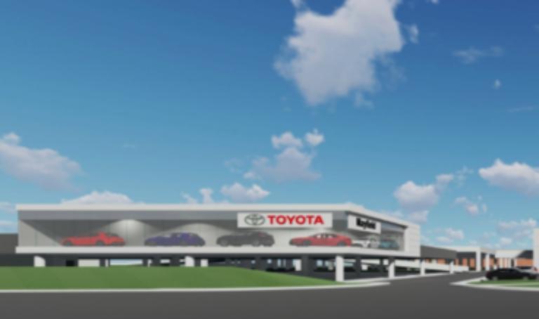 Massive Toyota store moving into West Edmonton Mall