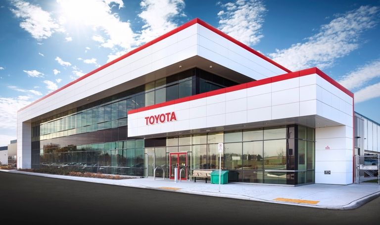 Toyota Canada opens massive distribution centre to serve half the country