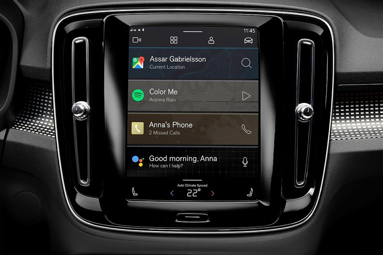 Volvo embeds Android into its new EV