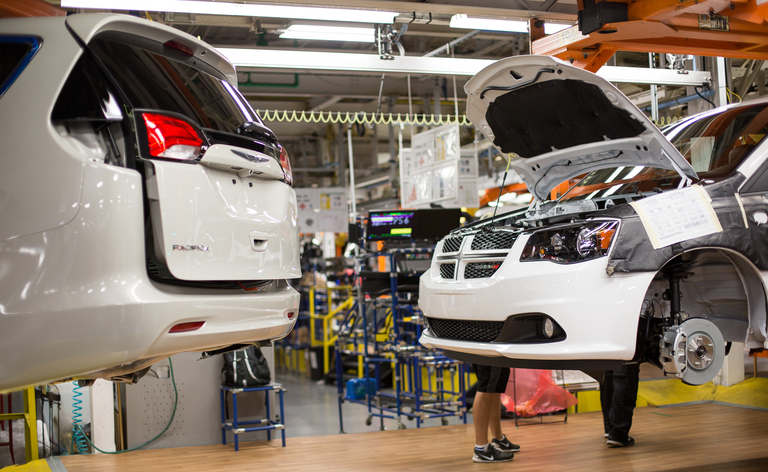 FCA extends January shutdown at Ontario minivan plant