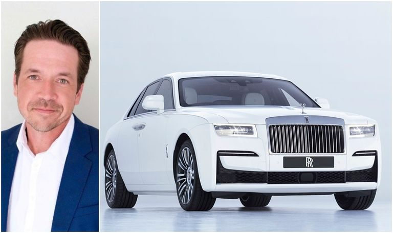 Rolls Royce Ghost and Canada GM Matthew Wilson