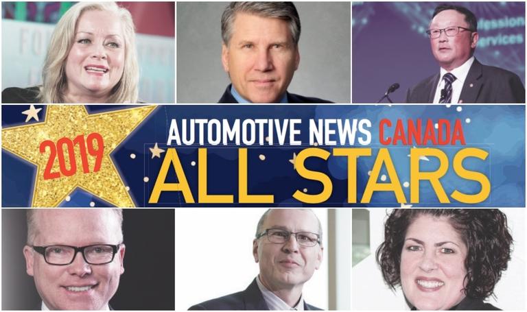 2019 Automotive News Canada All Stars