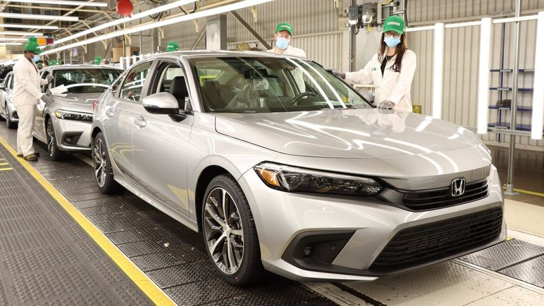 2022 Honda Civic Production