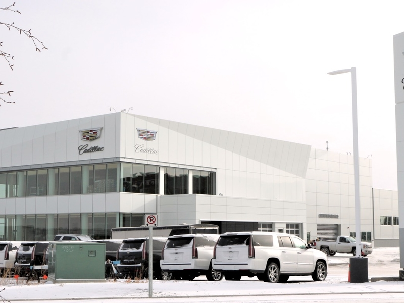Cadillac S First And Largest Exclusive Dealership In N A