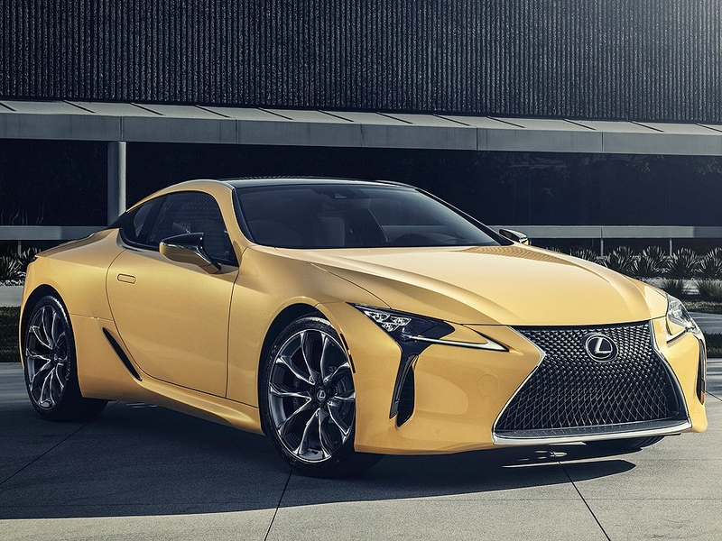 Limited number of Flare Yellow Lexus LC 500 coupes coming to Canada