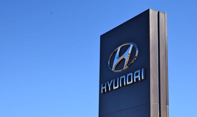 New Hyundai Dealership Sign