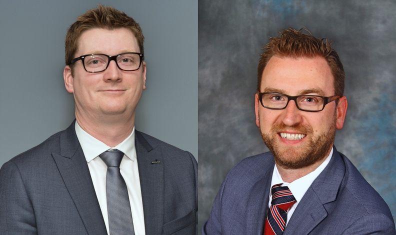 Nissan Canada's Trevor Longley and Ken Hearn