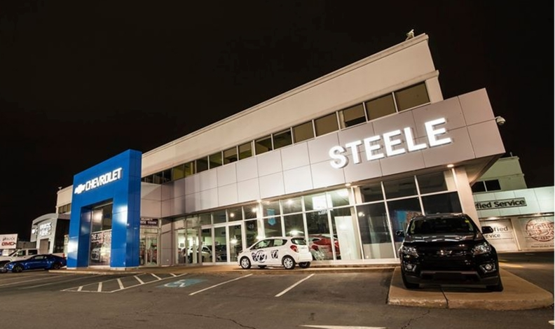 Exterior shot of Steele Chevrolet Buick GMC Cadillac
