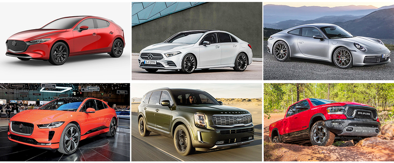 2020 Canadian Car and Utility Vehicle of the Year finalists