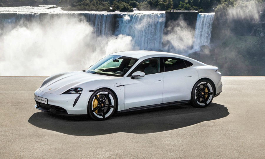 Porsche Taycan to come with 3 years of free Electrify Canada
