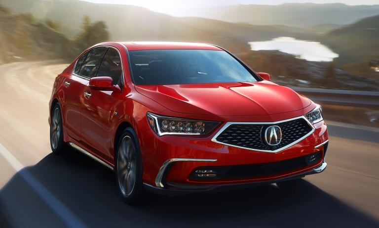 Acura freshens RLX sedan as sector sags