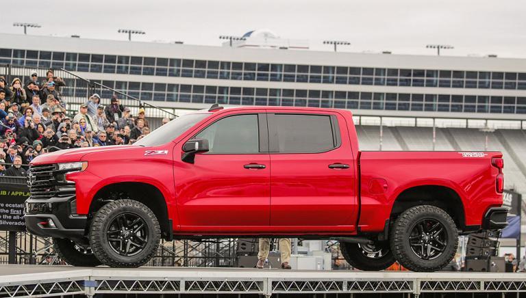 Chevrolet forges sleeker, aerodynamic styling on 2019 Silverado