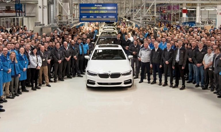 Magna starts production of BMW 5 Series in push for more assembly