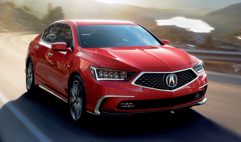 Freshened 2018 Acura RLX arrives in Canada without a price change