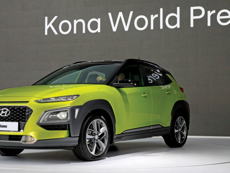 Hyundai Workers Stop Building Kona Suv Ahead Of Canadian